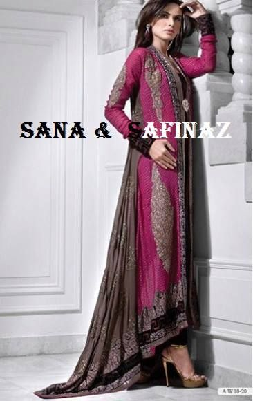 sana safinaz, pure chiffon, formal, branded,pink,couture,partywear, stitched to size S,M,L,XL  www.facebook.com/aishasa786 aishas.atelier@gmail.com