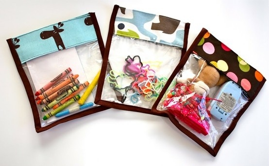Pin of the Day 5/7: See-through toy bags to make