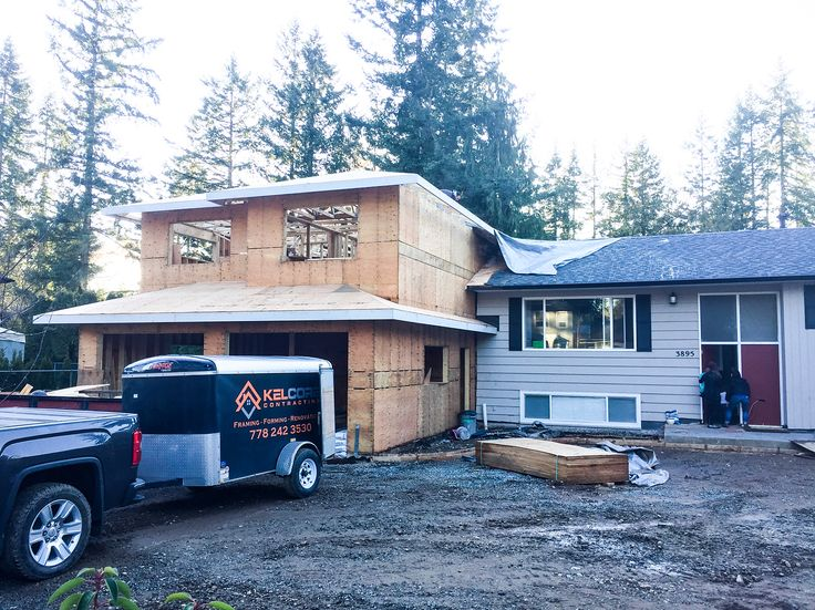 Forming & Framing nearing completion on this Brookswood project. . . . #kelcorecontracting #brookswood #builders #carhartt #chevroletsilverado #concrete #construction #contractor #dewalt #drill #drywall #eastwing #framing #forming #finishcarpentry #homedepot #lumber #lowes #langley #makita #milwaukee #newbuild #newconstruction #renovations #surrey #stanley #stiletto #tools #vancouver #westvancouver