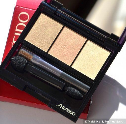 Shiseido Luminizing Satin Eye Color Trio BE 213 Nude