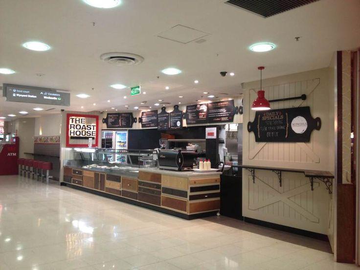 Classic Kitchen Café #DesignStore Wood Contrast Design by ORO Design Studio, Sydner Australia