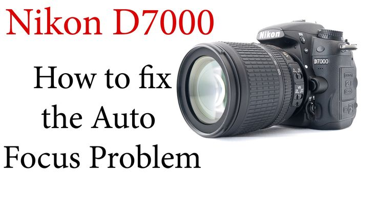 This video shows you how to fix the common auto focus problem with the Nikon D7000 Camera.