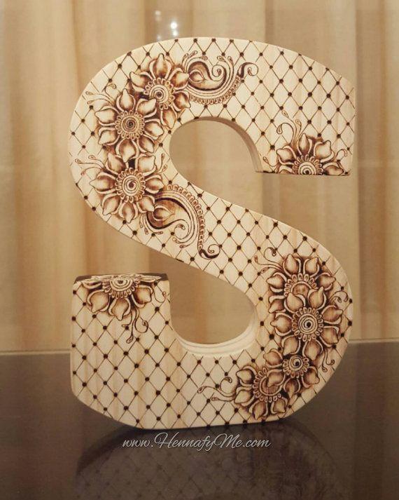 The 25 best woodburning letters ideas on pinterest wood burn items similar to woodburned letter using pyrography on etsy spiritdancerdesigns Images