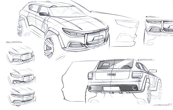 QOROS SUV PROJECT on Behance