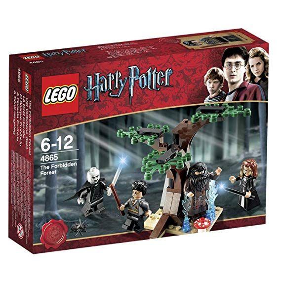 Lego Harry Potter 4865 El Bosque Prohibido Amazon Es Juguetes Y Juegos Lego Harry Potter Harry Potter Muñecos De Harry Potter