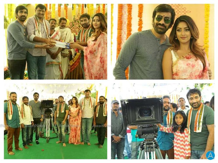 Ravi Teja-Amar Akbar Anthony Movie Launch Stills