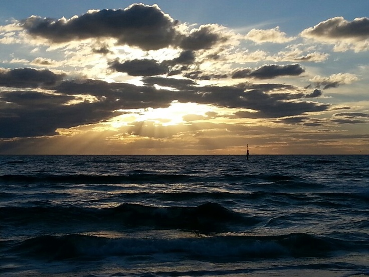 Sunset at Carrum Beach, victoria, Australia