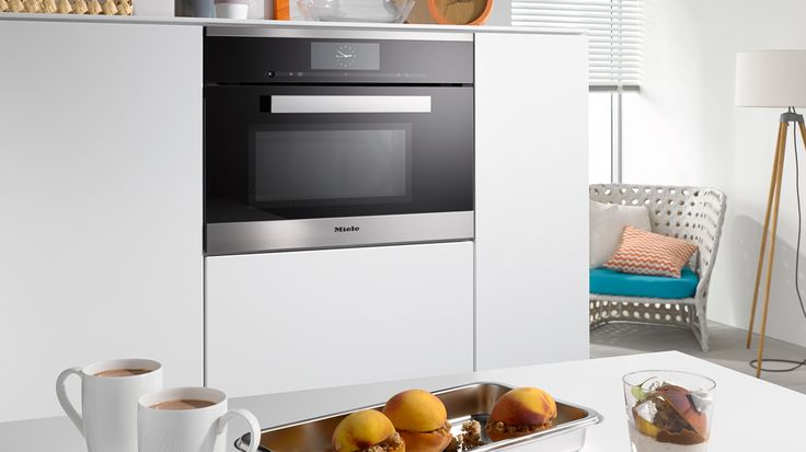 The ideal solution if you need a second built-in cooking device but are short on space and cannot decide which to choose, this versatile Miele steam oven with microwave combines the convenience of a microwave with the quality cooking results that are produced from a Miele steam oven, without any compromises