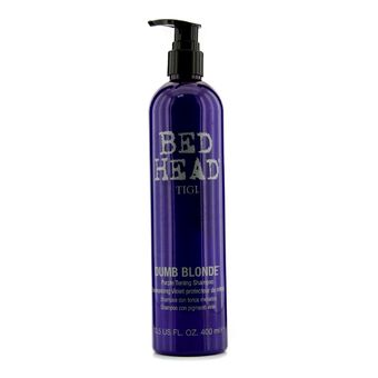 Buy Tigi Bed Head Dumb Blonde Purple Toning Shampoo 400ml/13.5oz online at Lazada. Discount prices and promotional sale on all. Free Shipping.
