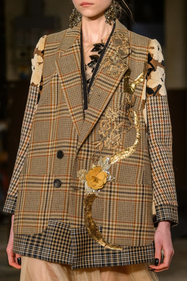 Antonio Marras at Milan Fashion Week Fall 2018 - Details Runway Photos