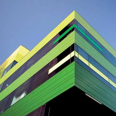 Westminster Academy, London UK.   NBK™ Terracotta #Facade Panels  #architecture #green