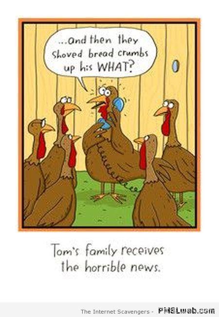 Funny Turkey Jokes | Thanksgiving funnies – A humoristic holiday treat | PMSLweb