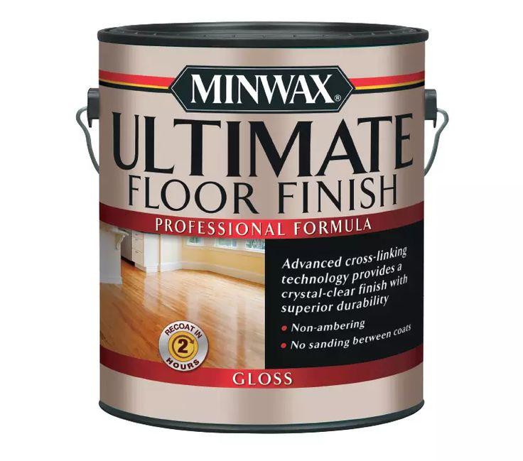 Minwax Ultimate Floor Finish Clear Tint For Floors