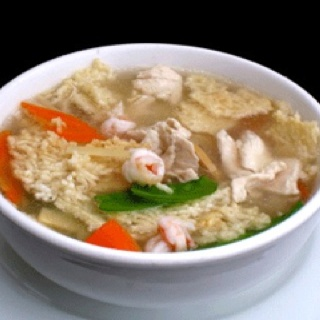 Chicken And Shrimp Sizzling Rice Soup Yenchingoc Com Food Soup