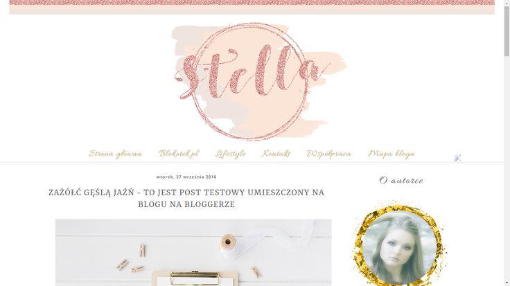 Szablon dla Bloggera - Stella