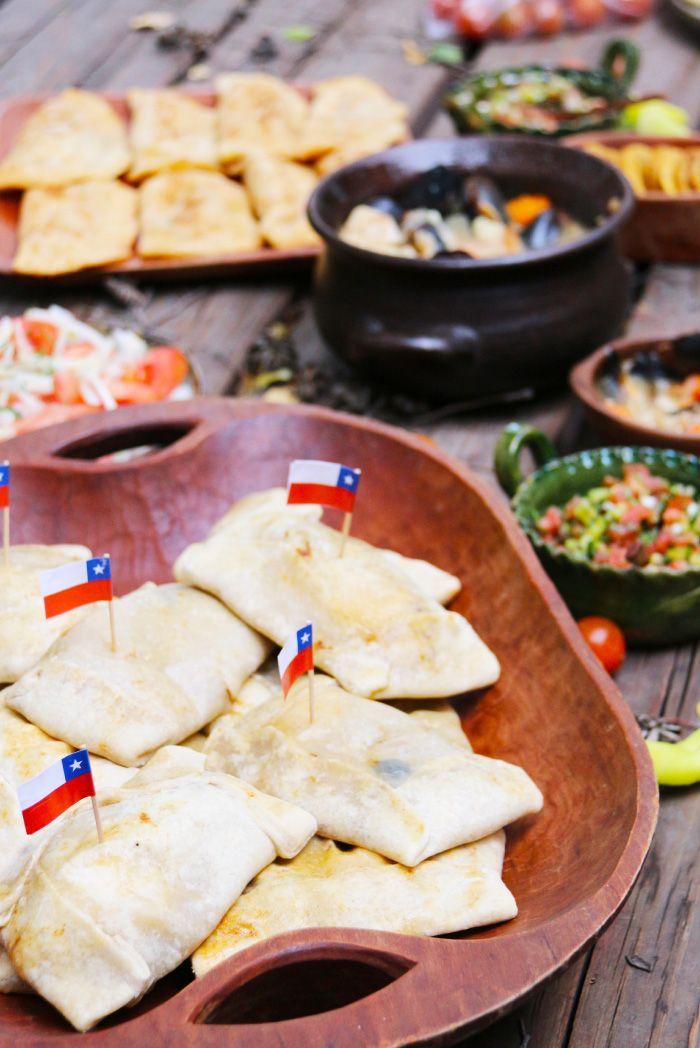 Recetas Chilenas - Especial Fiestas Patrias 2015 - Receta de empanadas, sopaipillas, caldillo de congrio y mucho más! todas con fotos del paso a paso.