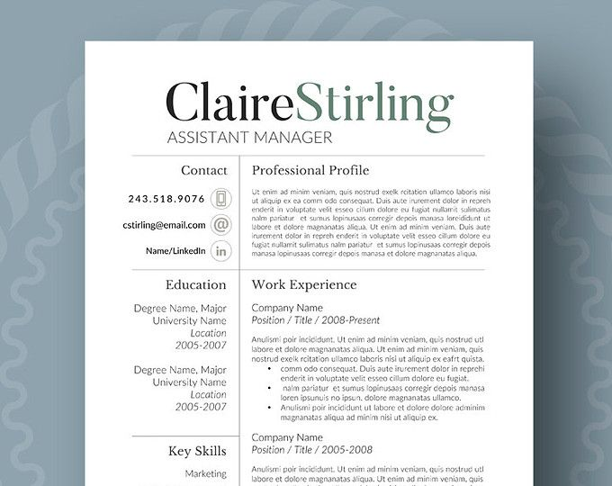 Microsoft Publisher Resume Templates. Best 25+ Teacher Resume .  Publisher Resume Templates