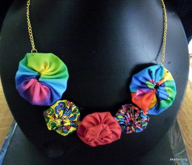 my take on a yoyo necklace. $20.00