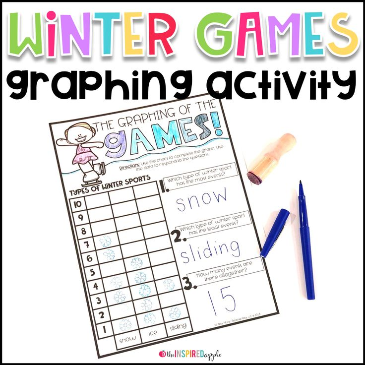 Are you looking for activities to help you teach all about the Winter Olympics to your kids? Then, you must check out this blog post! It's full of Winter Games FUN and perfect for kindergarten, first grade, and second grade students. In this unit, you will find crafts, a countdown, vocabulary activities, directed drawings, nonfiction text, a mini-reader, sports trading cards, and more! This will add to your Olympics studies and your kids will have so much fun teaching these ideas!
