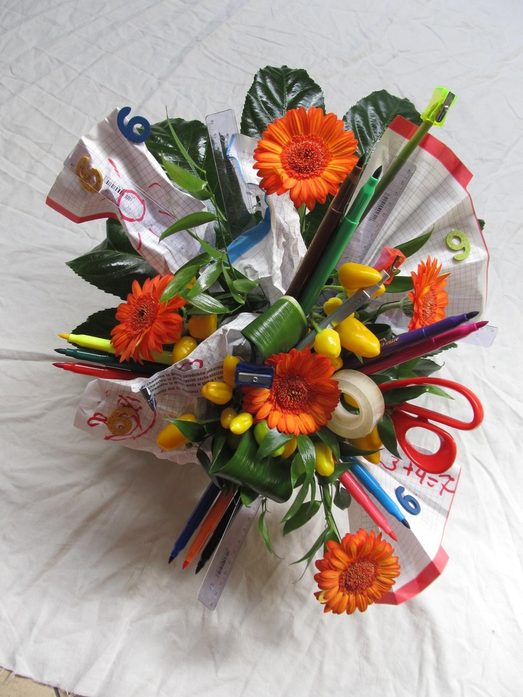 #crazy #bouquet #school 2012