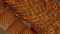 How to Make an Waffle Cone Using a Traditional Waffle Maker