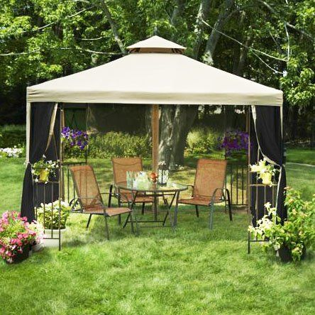 Laketon Gazebo Replacement Canopy - RipLock 350 - http://www.majestypatiofurniture.com/laketon-gazebo-replacement-canopy-riplock-350/