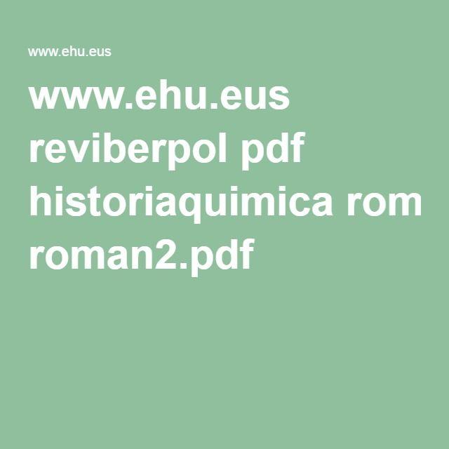 Mejores 9 imgenes de tabla peridica en pinterest tabla ehus reviberpol pdf historiaquimica roman2pdf urtaz Gallery