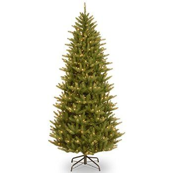 christmas shop online national tree feel real natural frasier slim hinged tree - Christmas Tree Shop Online