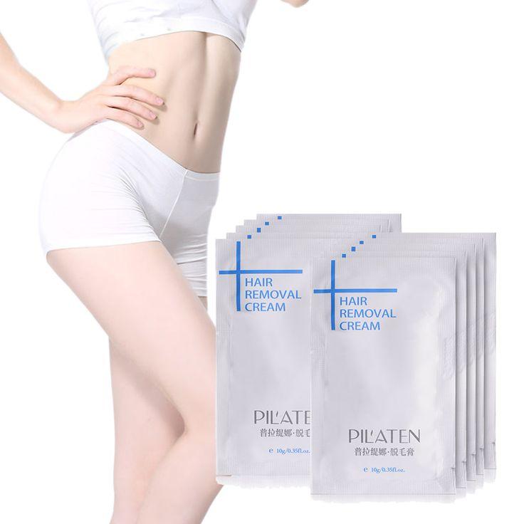 10pcs/lot Pilaten 10g Painless Depilatory Cream Legs Depilation Cream For Hair Removal For Armpit Legs Hair Removal Cream #Affiliate