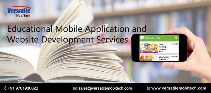 Versatile Mobitech Services: Best educational mobile application and website de...