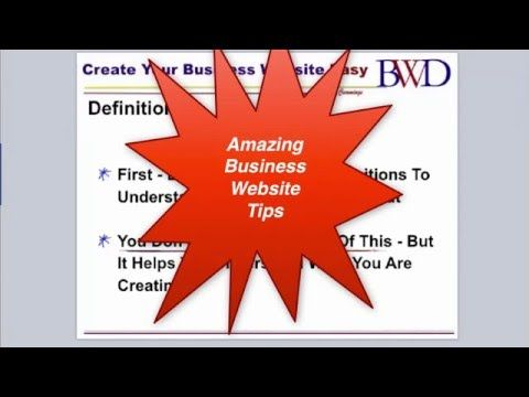 Business Website Definitions