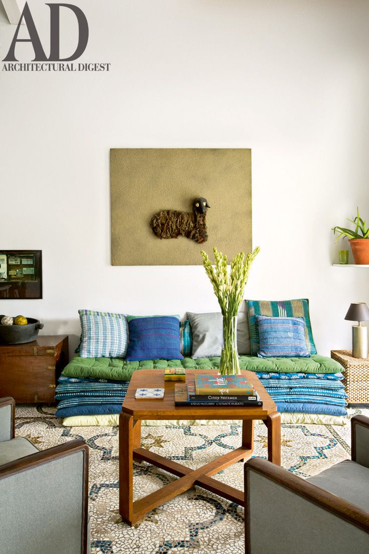 Quirky Living Room The Living Room Of Constantin Le Blan And Guillaume Delacroixs