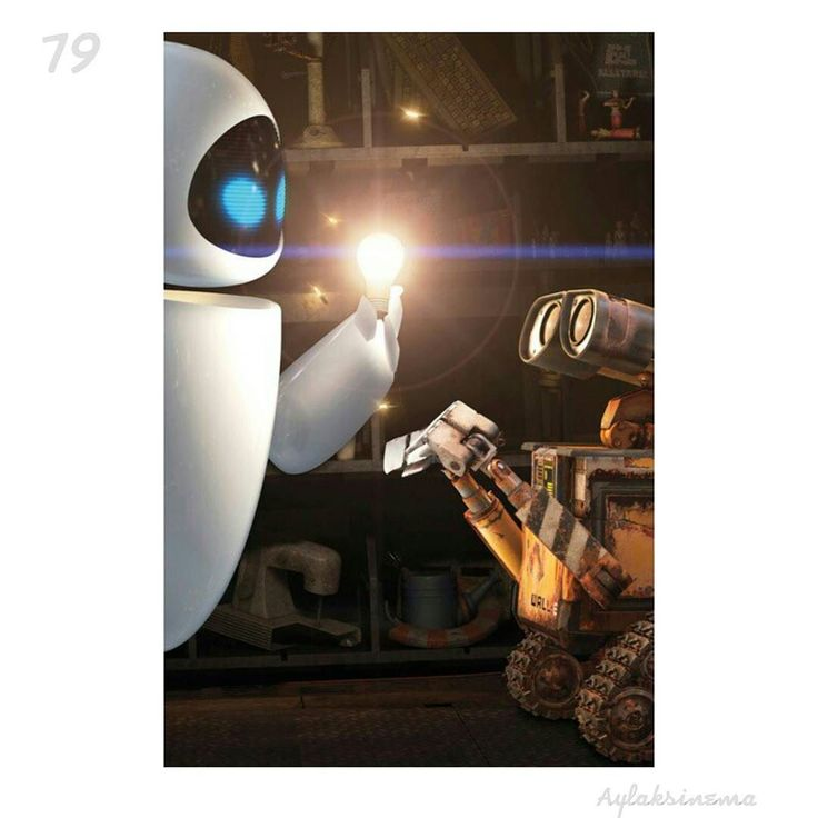 """Wall-E (2008)  Director:Andrew Stanton  Cast:BenBurttElissaKnight JeffGarlin  Domestic lifetime gross(adjusted for inflation 2014): $248121600  Famous quote:WALL-E!  WALL-E  The most engaging silent movie since Chaplin left the screen: There's no """"human""""dialoguefor the first 40 minutes.  #walle #wall #e #andrewstanton #animation #anime #love #amazing  #aylaksinema #movie #cinema #love #amazing #look #art #cool #awesome #instagood #actor #actress #film #photo #ig #igaddict #hollywood #pretty…"""
