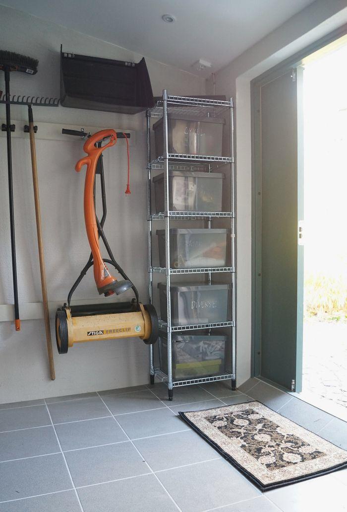 Förvaringstips för garage, uthus och förråd