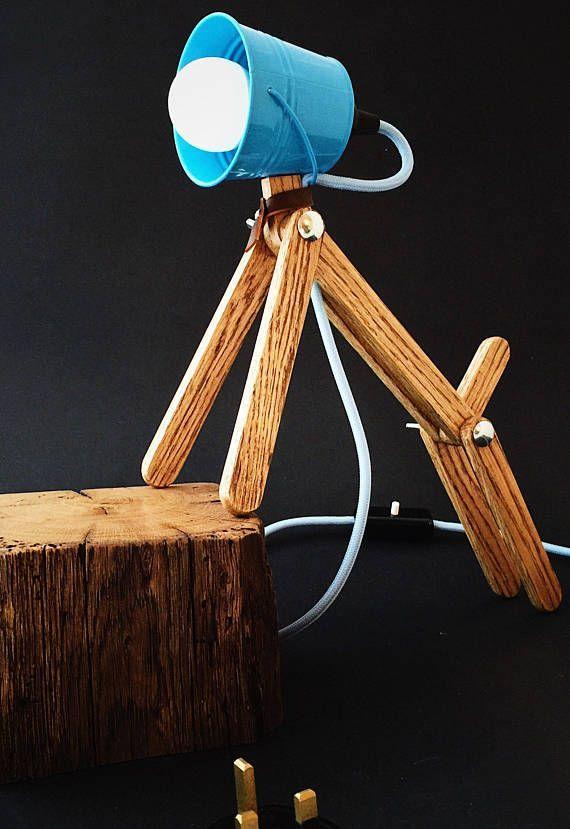 Kids Blue Bedside Lamps