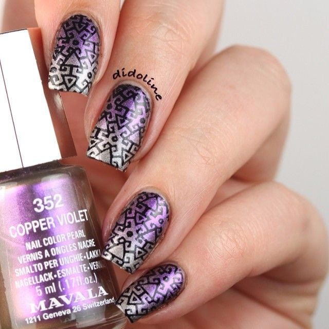 17 Best Images About Infinity Nails Stamping On Pinterest