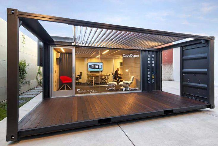 25 beste idee n over zeecontainer huisje op pinterest container woningen containerhuizen en - Keukenmeubelen rustiek ...