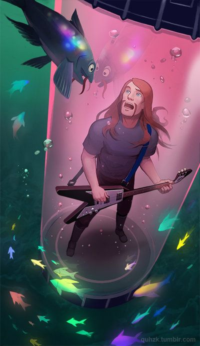 Metalocalypse - Underwater Friends by *Okha on deviantART this song is still my ringtone for my fiancee