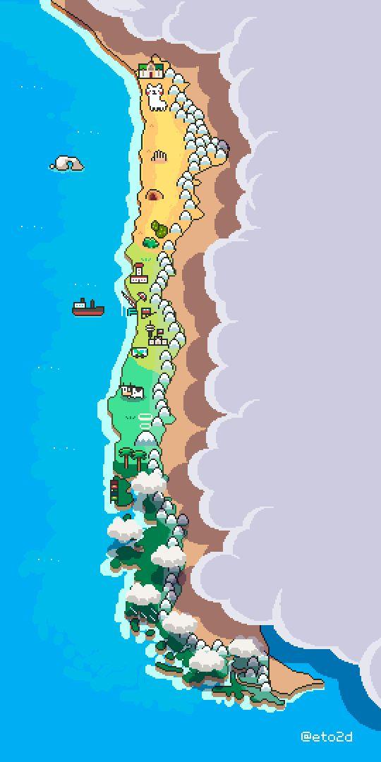 Chile pixelart on Behance