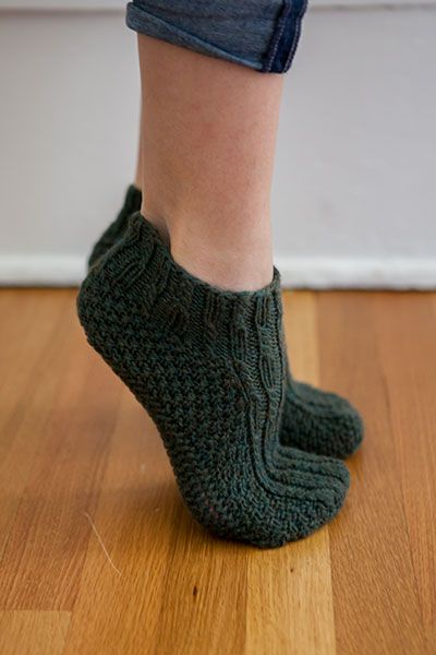 Structured Slippers - Knitting Patterns and Crochet Patterns from KnitPicks.com by Edited by Knit Picks Staff