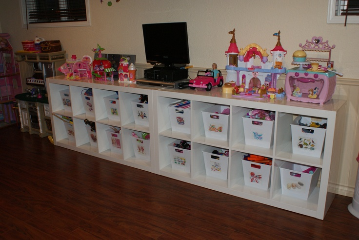 18 best images about organize girls toys on pinterest Cheap and easy organizing ideas