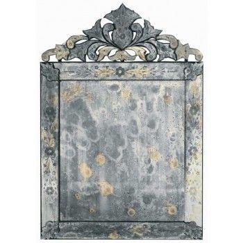 Venetian Crownhead Mirror