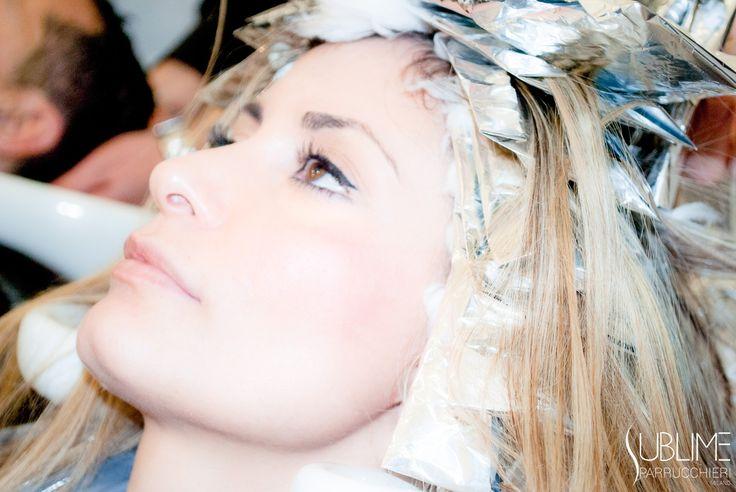 #blonde #barbie #colpidisole #bionda #capelli #hair #color #sublime #fashion…