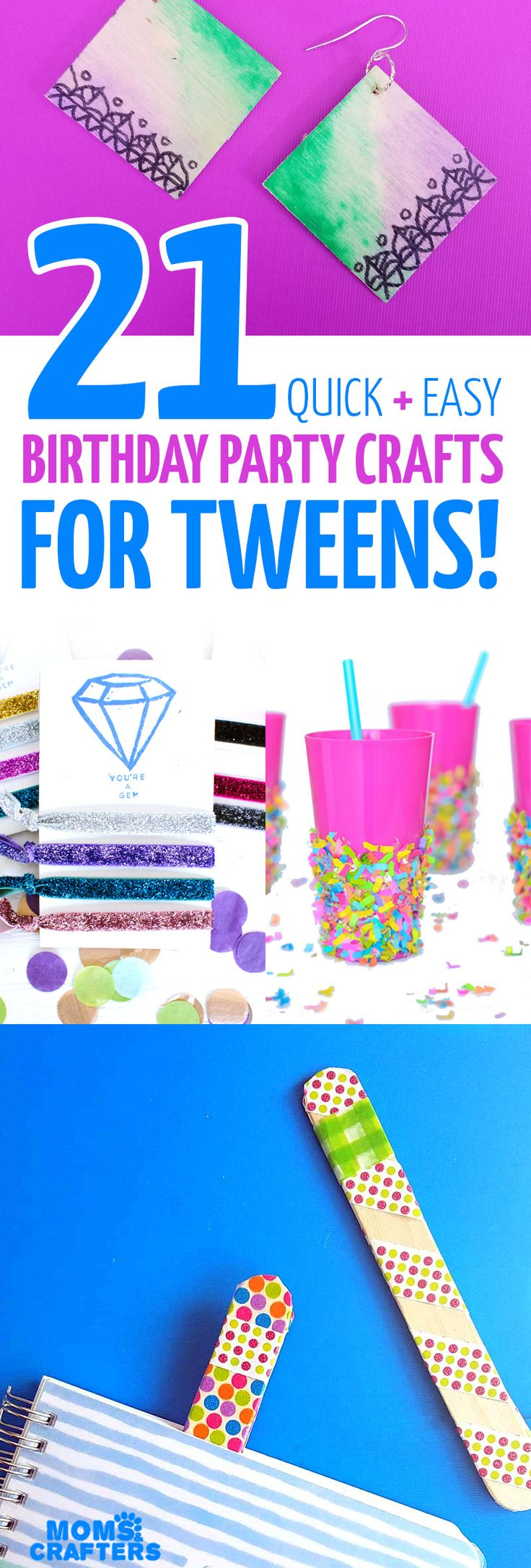 Try one of these cool birthday party crafts for tweens