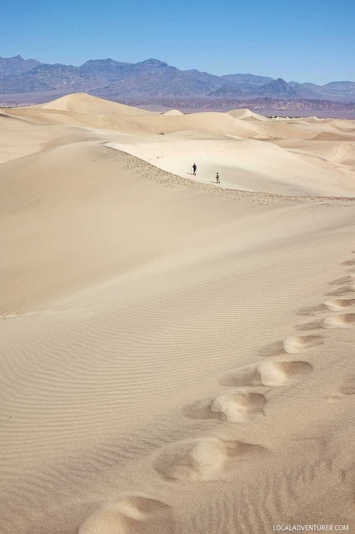 Death Valley National Park is the hottest place on earth and gets unbearably hot during the summer and sometimes even fall and spring. Winter is the best time to visit where you can get 70 degree weather! (15 Best National Parks to Visit in Winter // localadventurer.com