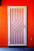 Security screen door.