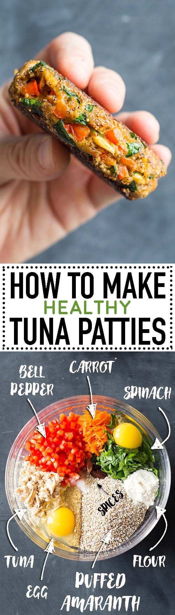Learn how to make tuna patties! Tips and tricks on how to not have them fall apart. Also, how to make delicious and super healthy tuna patties. via @greenhealthycoo