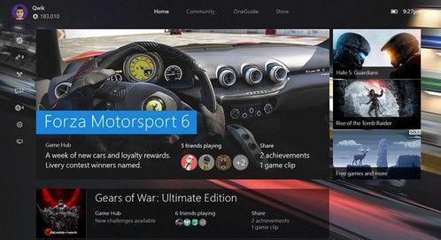 La actualización Beta del sistema operativo de Xbox One viene con problemas
