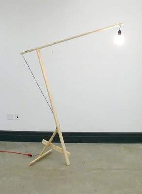 Dinosaurs and Robots: Enzo Mari-an Lamp By Kueng-Caputo