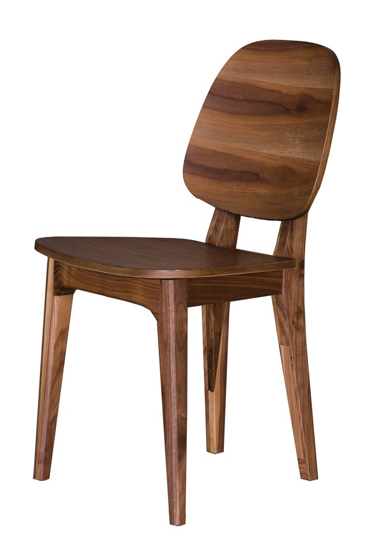 Solid Walnut Dining Chair